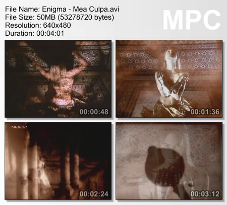 enigma mea cupola видеоклип